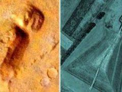 Тайны Марса: обнаружена структура, идентичная древней японской гробнице.