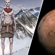 Марсианская цивилизация нашла убежище в Антарктиде из-за катастрофы на Марсе?