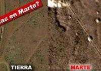 На Марсе в кратере Гейла обнаружена железная дорога