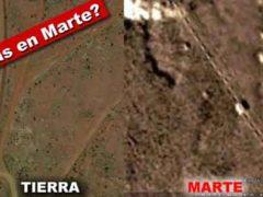 На Марсе есть пирамиды и железная дорога древней цивилизации.