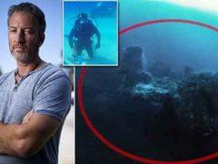 Боевой корабль инопланетян лежит на морском дне Бермудского треугольника?