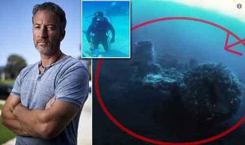 Он нашел боевой корабль инопланетян в Бермудском треугольнике