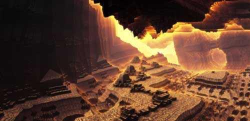Подземный мир, скрытый внутри планеты