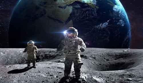 Россия реализует проект лунной колонии в 2040 году