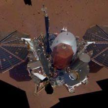Зонд Инсайт снял свое первое селфи на Марсе.