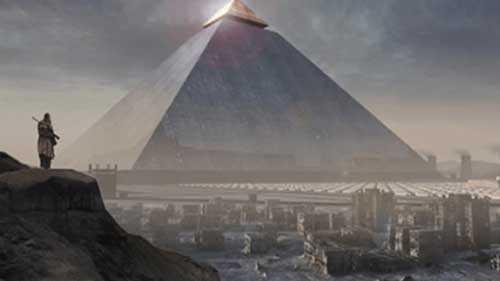 пирамиды, наследие потерянного города Атлантиды
