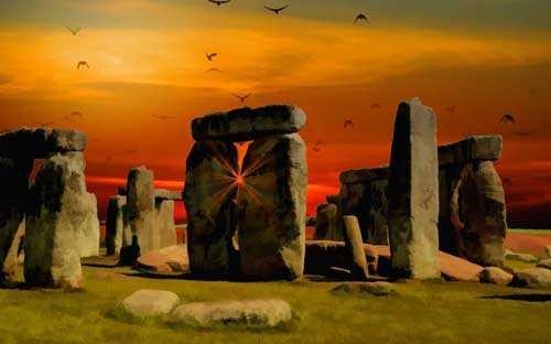 Древний Стоунхендж Великобритании – загадка древних народов.