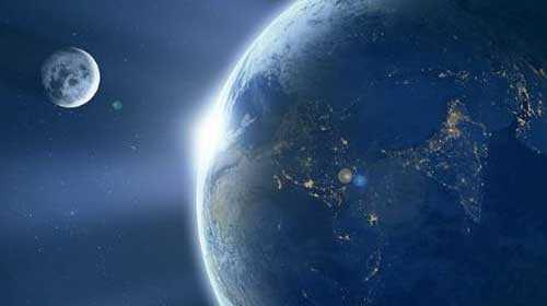Луна и Земля, интересные тайны планет.