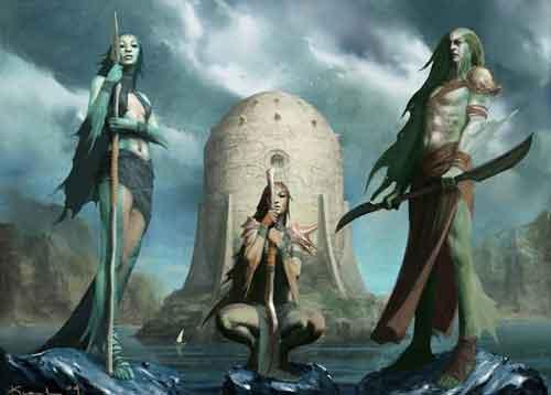 Царица Тин-Хинан создала цивилизацию в окружении людей с Ориона