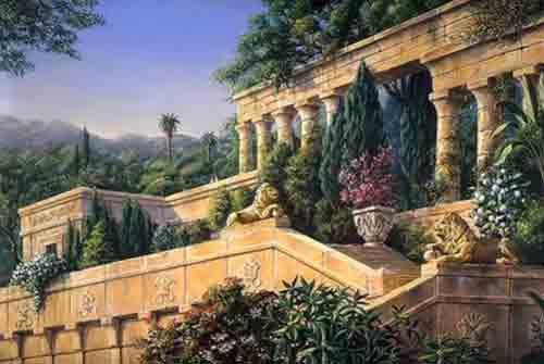 Возможно, висячие сады Вавилона росли в Ниневии
