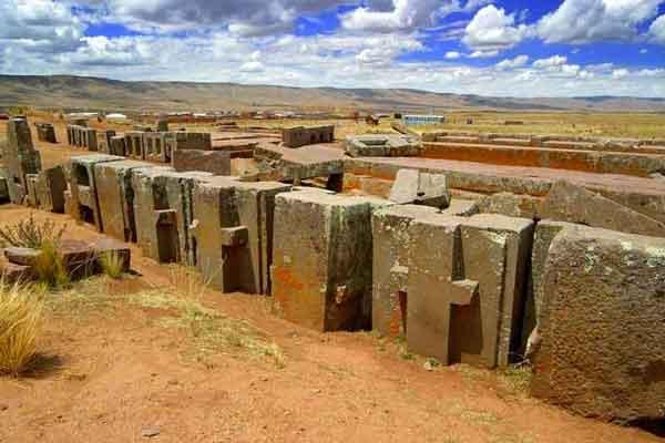 Знаменитые блоки Пума Пунку