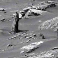 Тайны планеты Марс, секретные снимки НАСА показывают остатки марсианского дерева.