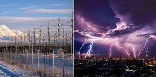 включение HAARP создает климатические проблемы