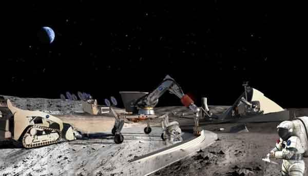Космическая база на Луне это начало колонизации Марса.