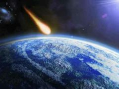 Темная галактическая зона, причина увеличения числа метеоритов.
