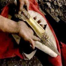 Артефакт Копье Судьбы, древний реликт был в руках Адольфа Гитлера.