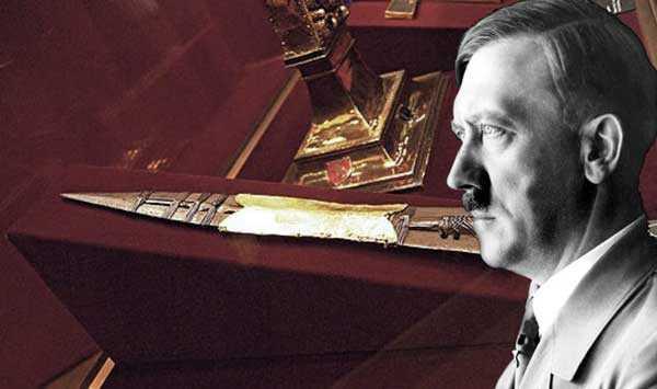 судя по легендам Гитлер владел реликвией Копье Судьбы