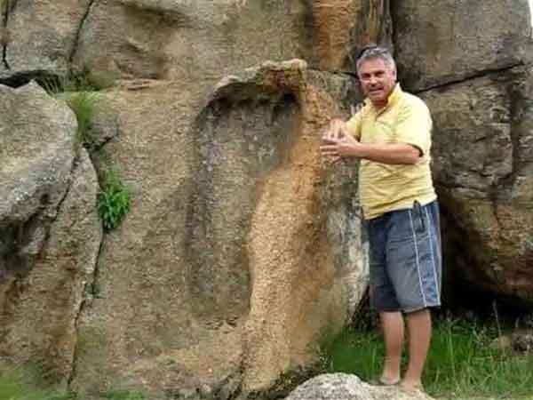 Загадочные артефакты, следы великанов на земле