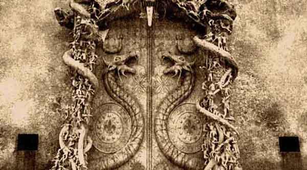 сказочная тайна запечатанной двери храма Падманабхасвами охраняется очень сурово