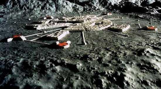 инопланетяне присутствуют на темной стороне Луны