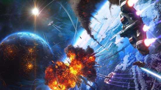 В окрестностях созвездия Орион идет война инопланетян