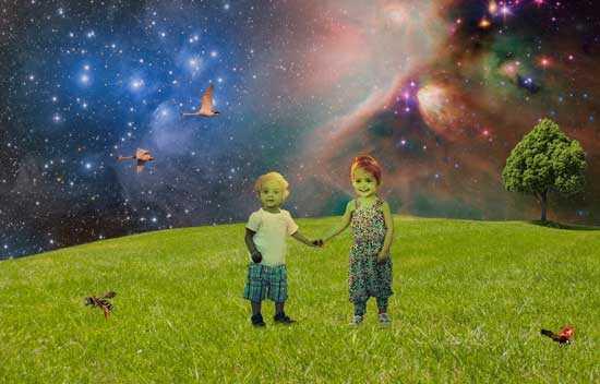 Тайна Зеленых Детей Вулпита, иностранцы из космоса
