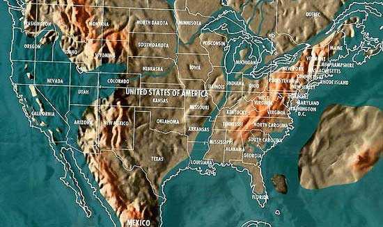 Будущая карта США Гордона-Майкла Скаллиона