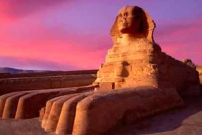 Египетский Сфинкс стережет хроники Атлантиды.