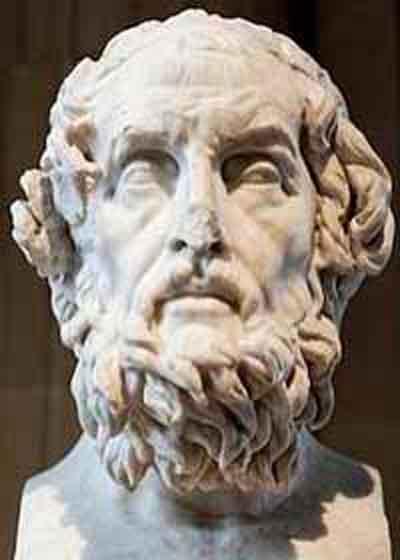 Гомер оставил записи о древней археологии
