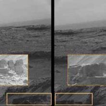 Каменные стены на Марсе, кто их построил.