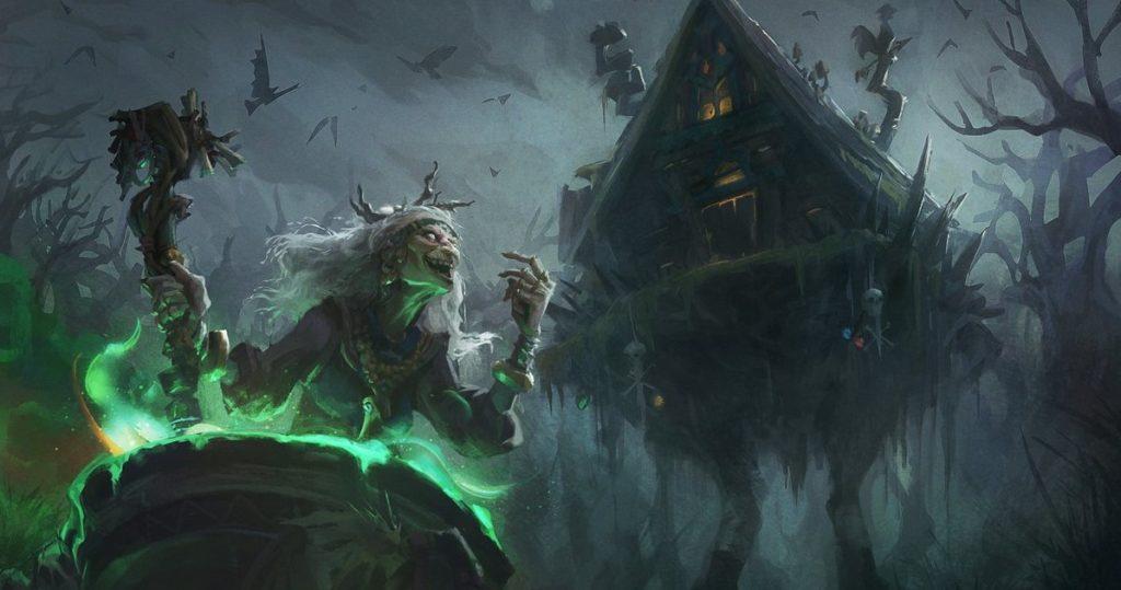 Баба Яга, ведьмы славянской мифологии.