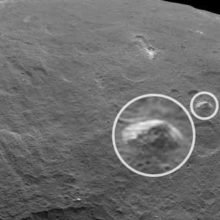 Пирамида чужих, база инопланетян на Церере.
