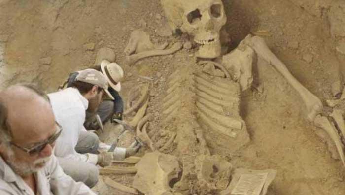 Гигантские человеческие скелеты были обнаружены при раскопках в Болгарии