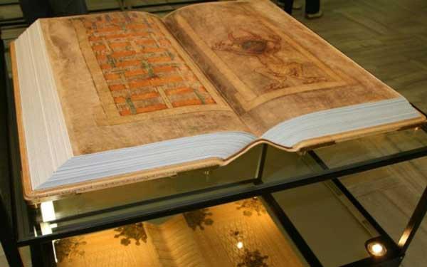 Кодекс Гигас, библия и доказательство существования дьявола